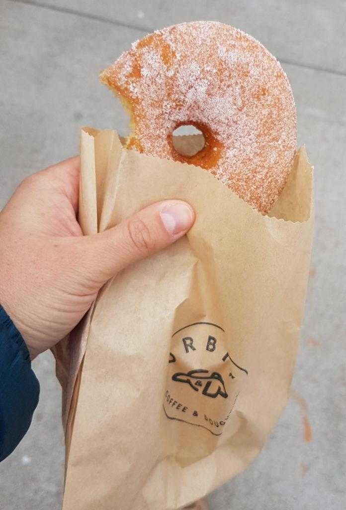 donut acheté à oakland