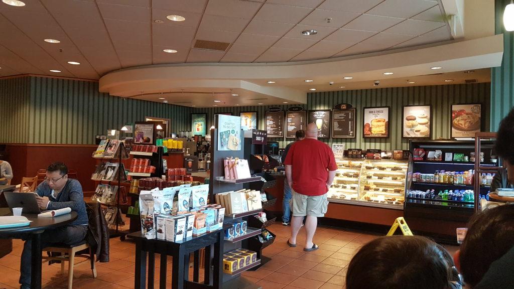 Coffee shop du Barnes&Noble de Dubin.