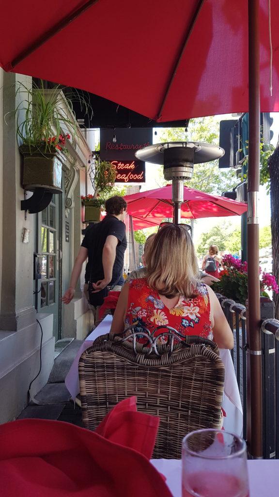 terrasse restaurant baci à pleasanton californie
