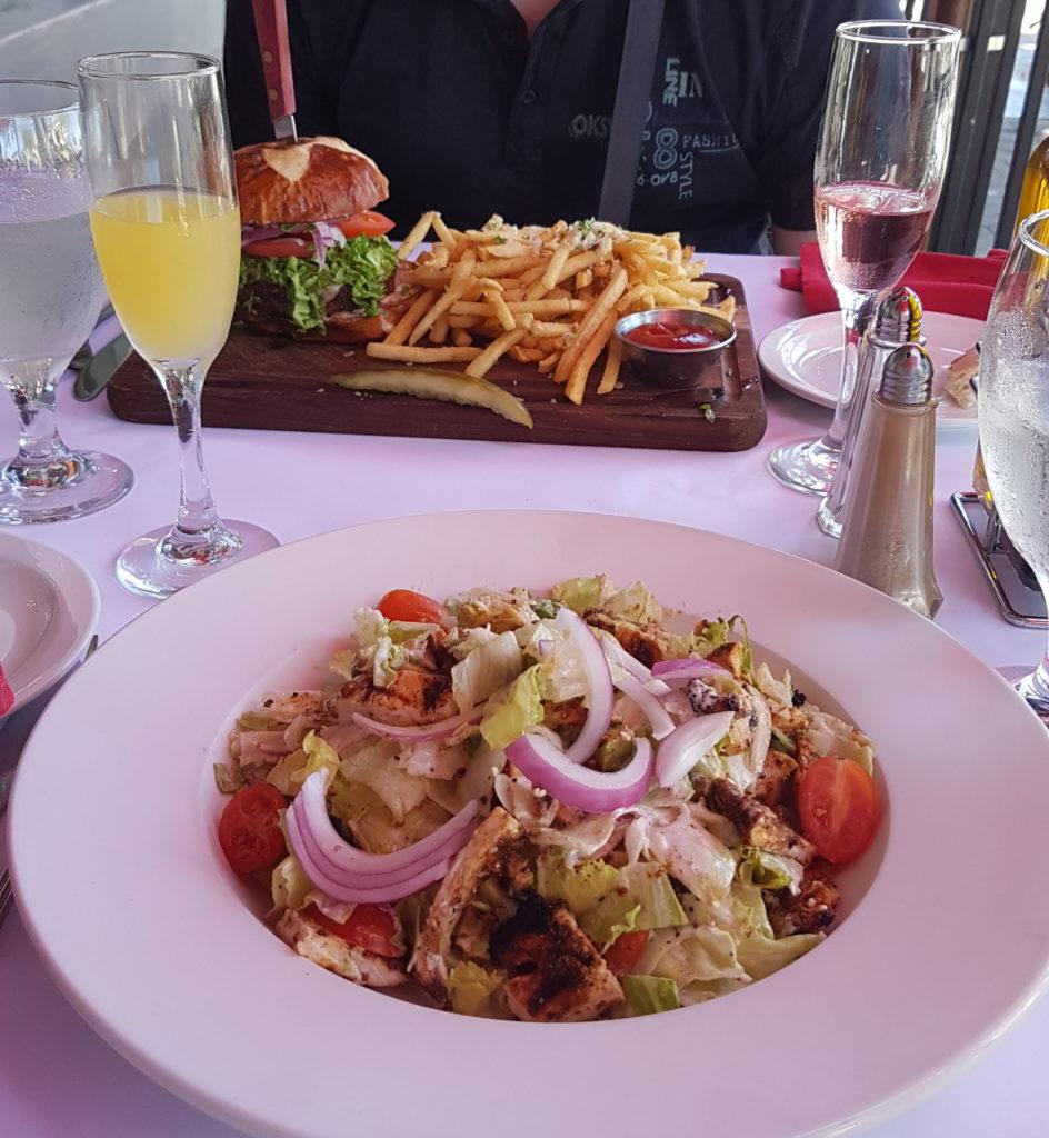 salade au restaurant baci à pleasanton califrornie