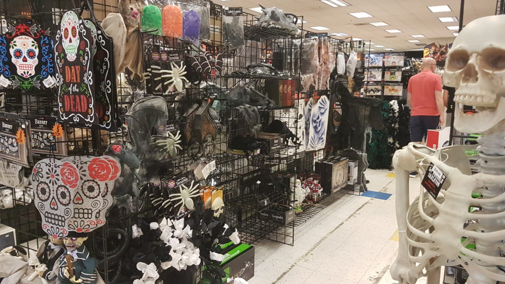 magasin halloween USA rayon horreur