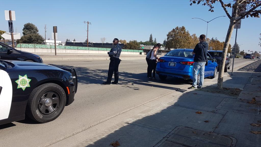 panne d'essence lors de l'essai chez Nissan