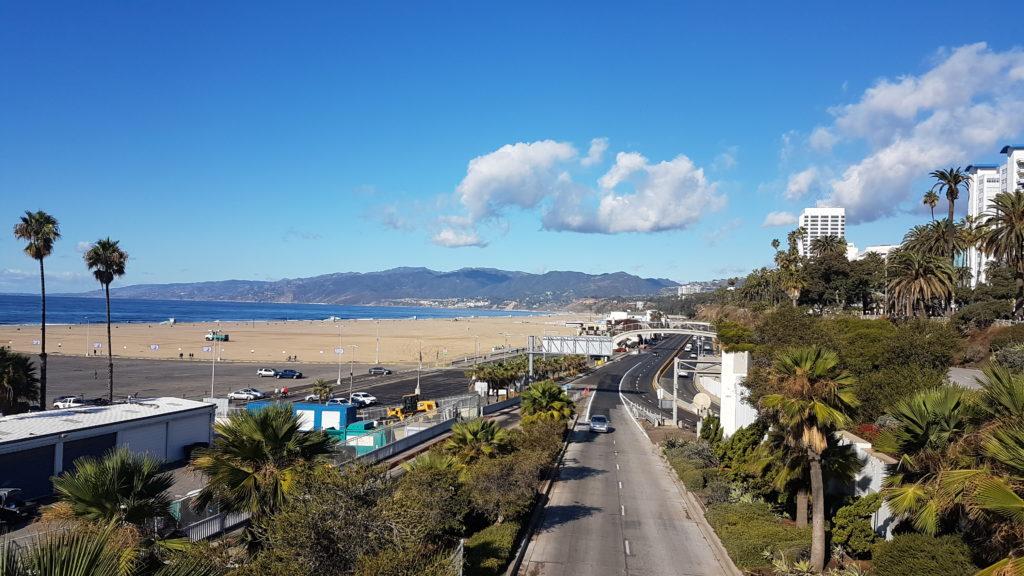 plage santa monica