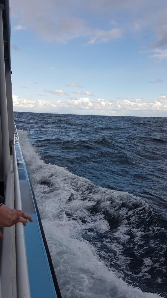 vue latérale du bateau