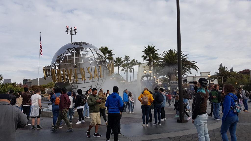 entrée du parc universal