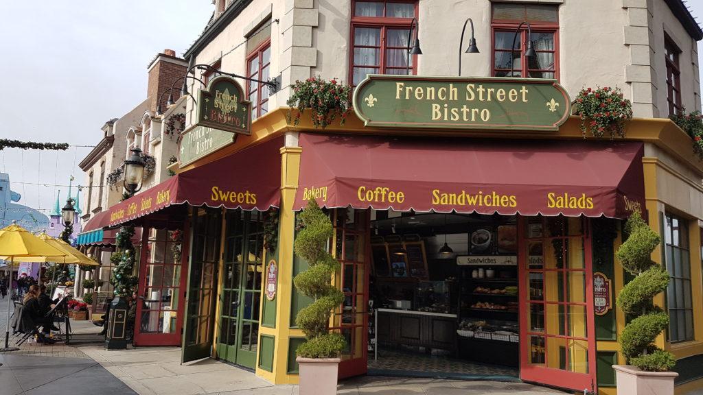 french street bistro universal studios