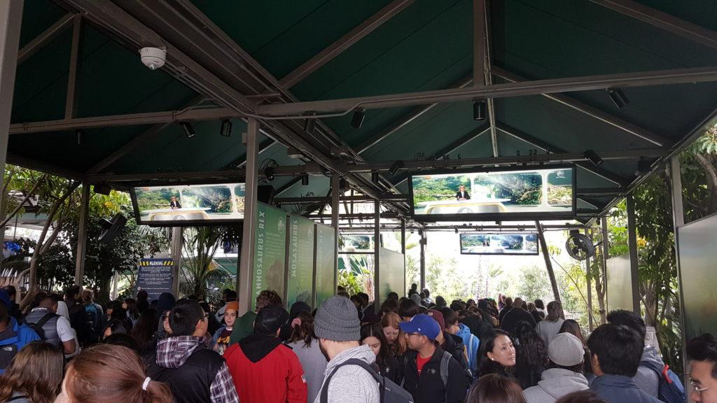 queue pour jurassic world