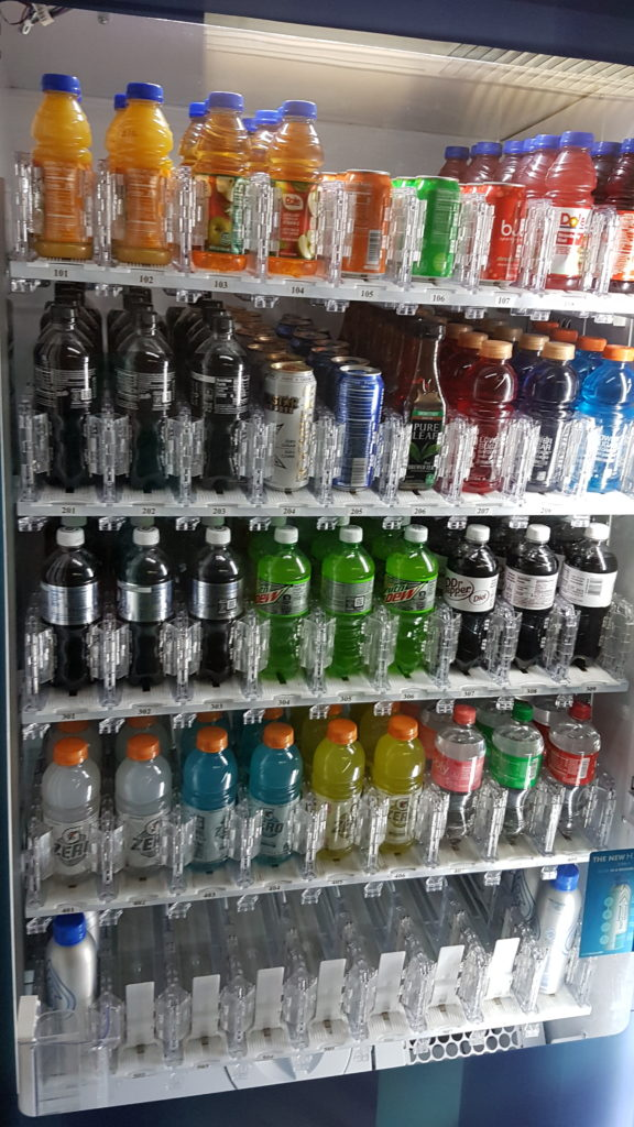 distributeur boisson aéroport san francisco