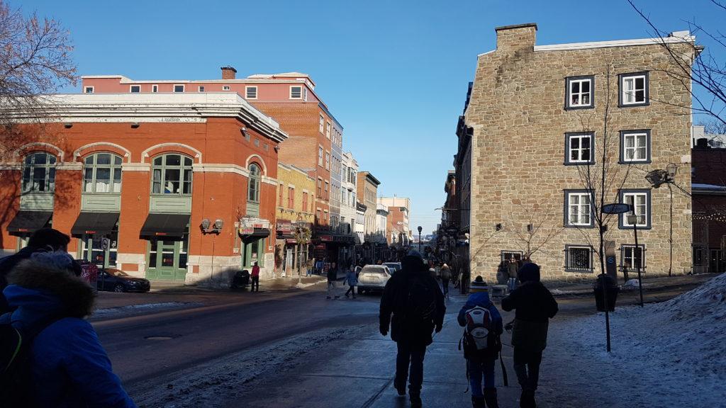 ville fortifiée québec