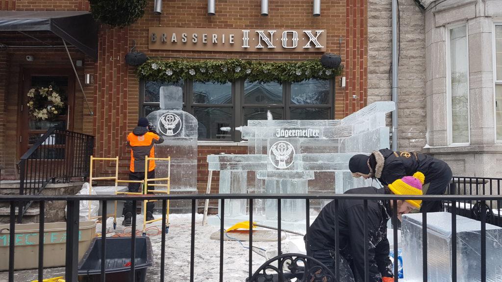 tailleurs de glace