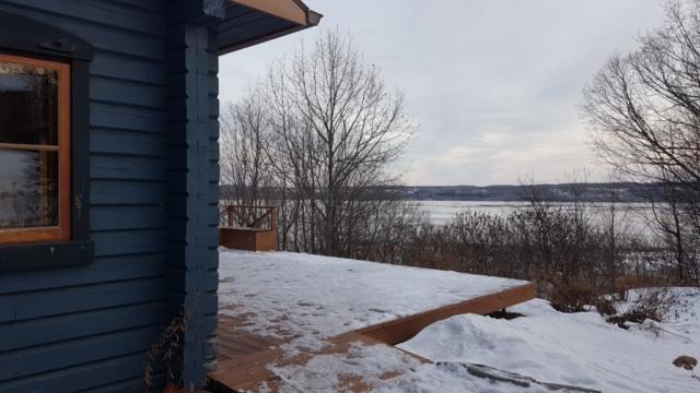 vue depuis la maison bleueu saint anne