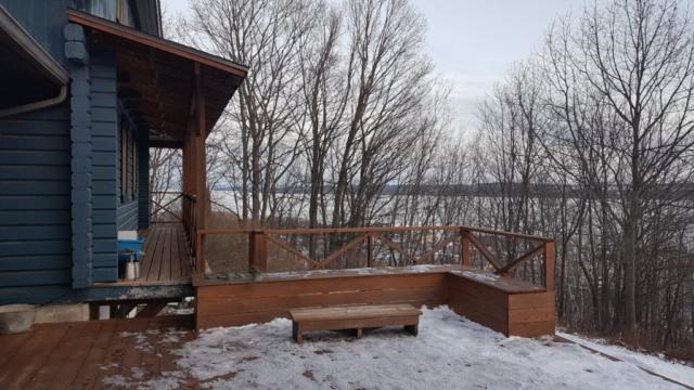 vue depuis la maison bleue saint anne