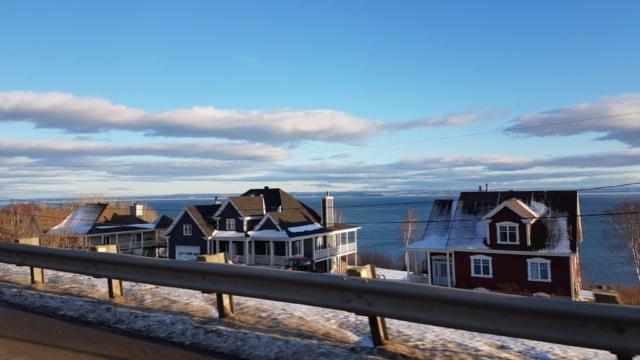 maisons au bord St Laurent