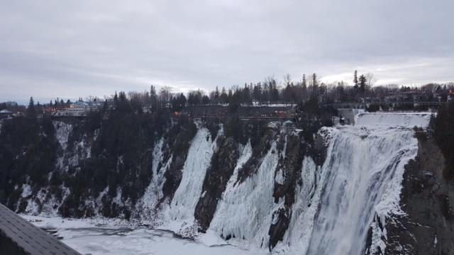 chutes point de vue rives aval