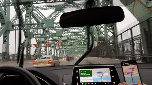 Arrivée sur Montréal