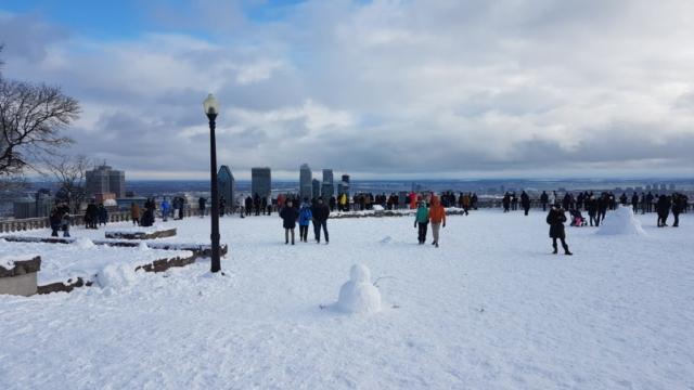 belvédère du Mont Royal Montréal