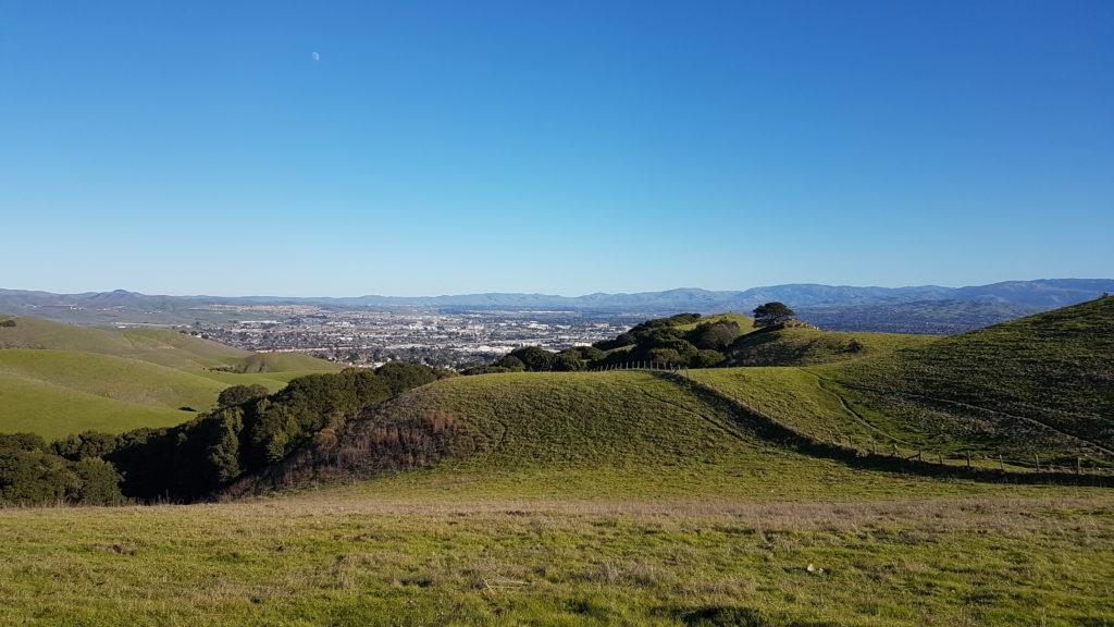 trail à Dublin en Californie