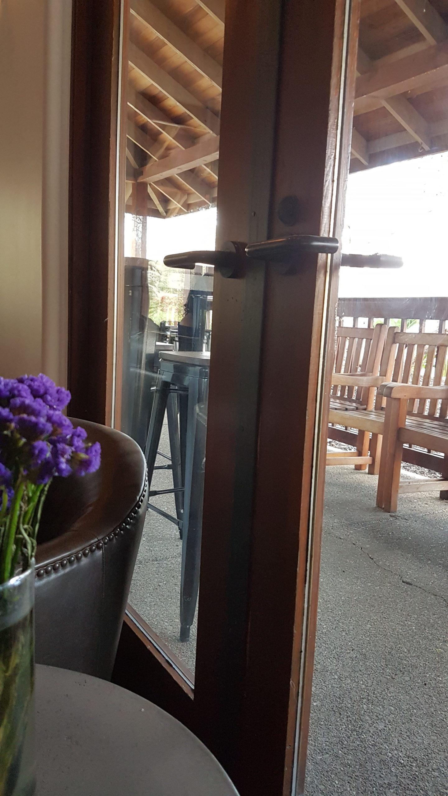 Wente winery Livermore Californie Une terrasse pour l'été.