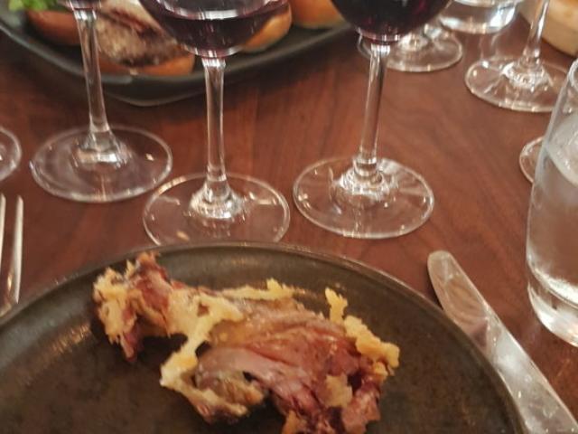 Wente winery Livermore Californie  Cuisses de canard confites pas mal du tout 😍 !!