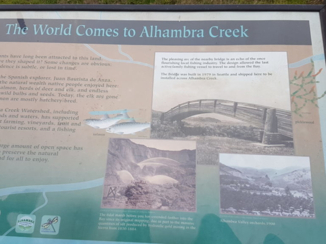 the world comes to alhambra creek