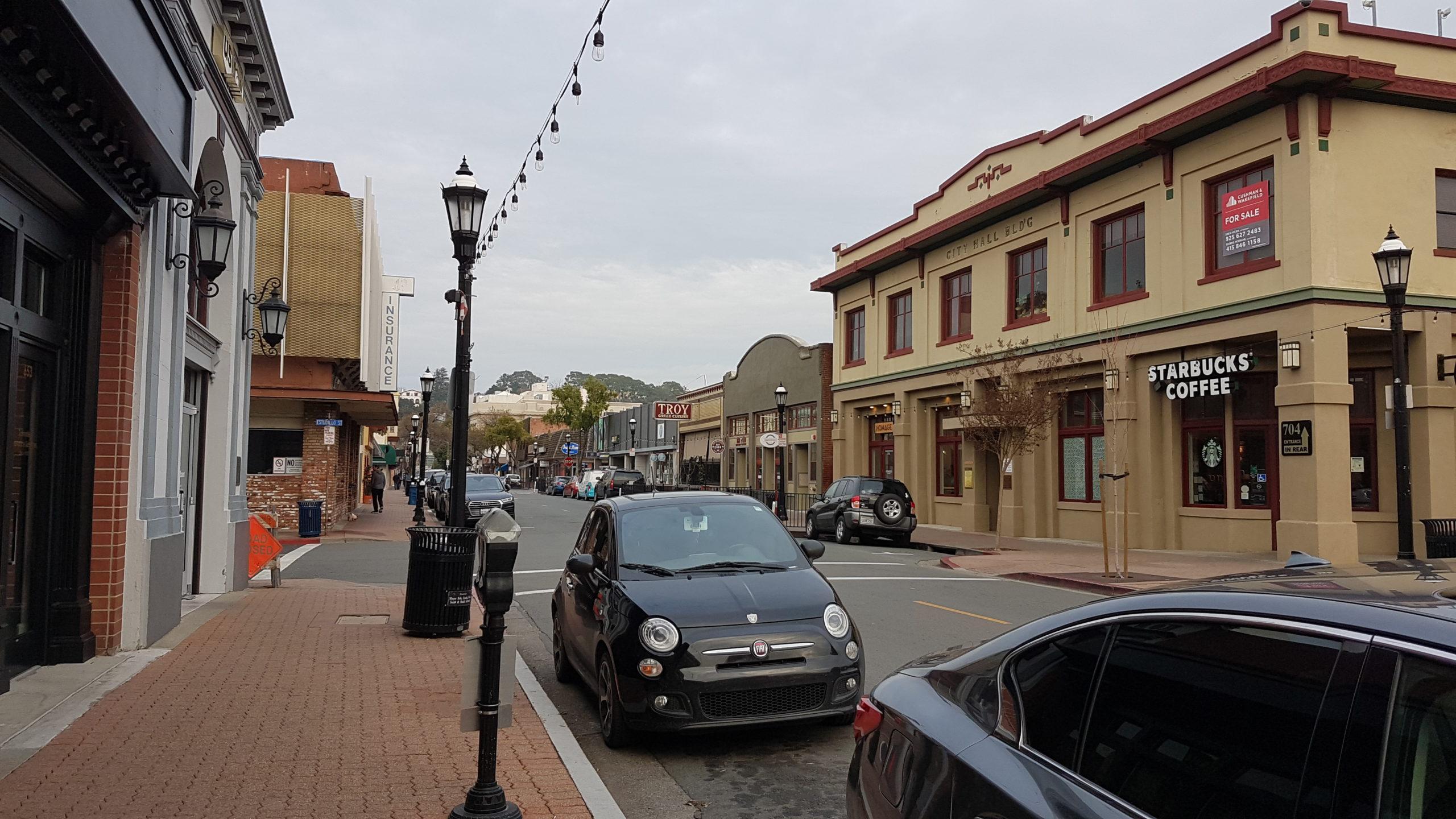 Centre ville de Martinez, Californie