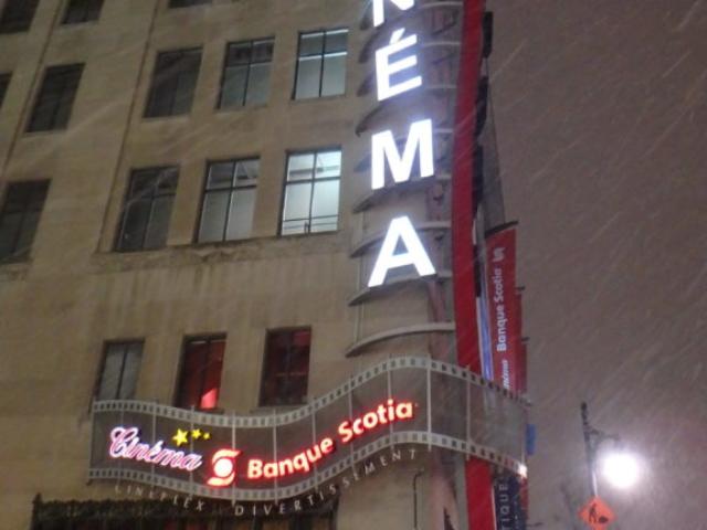 Rue Sainte Catherine sous la neige.7