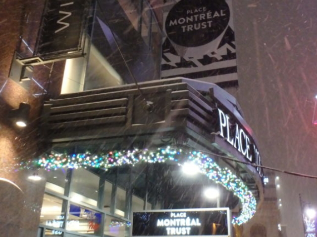 Rue Sainte Catherine sous la neige.9