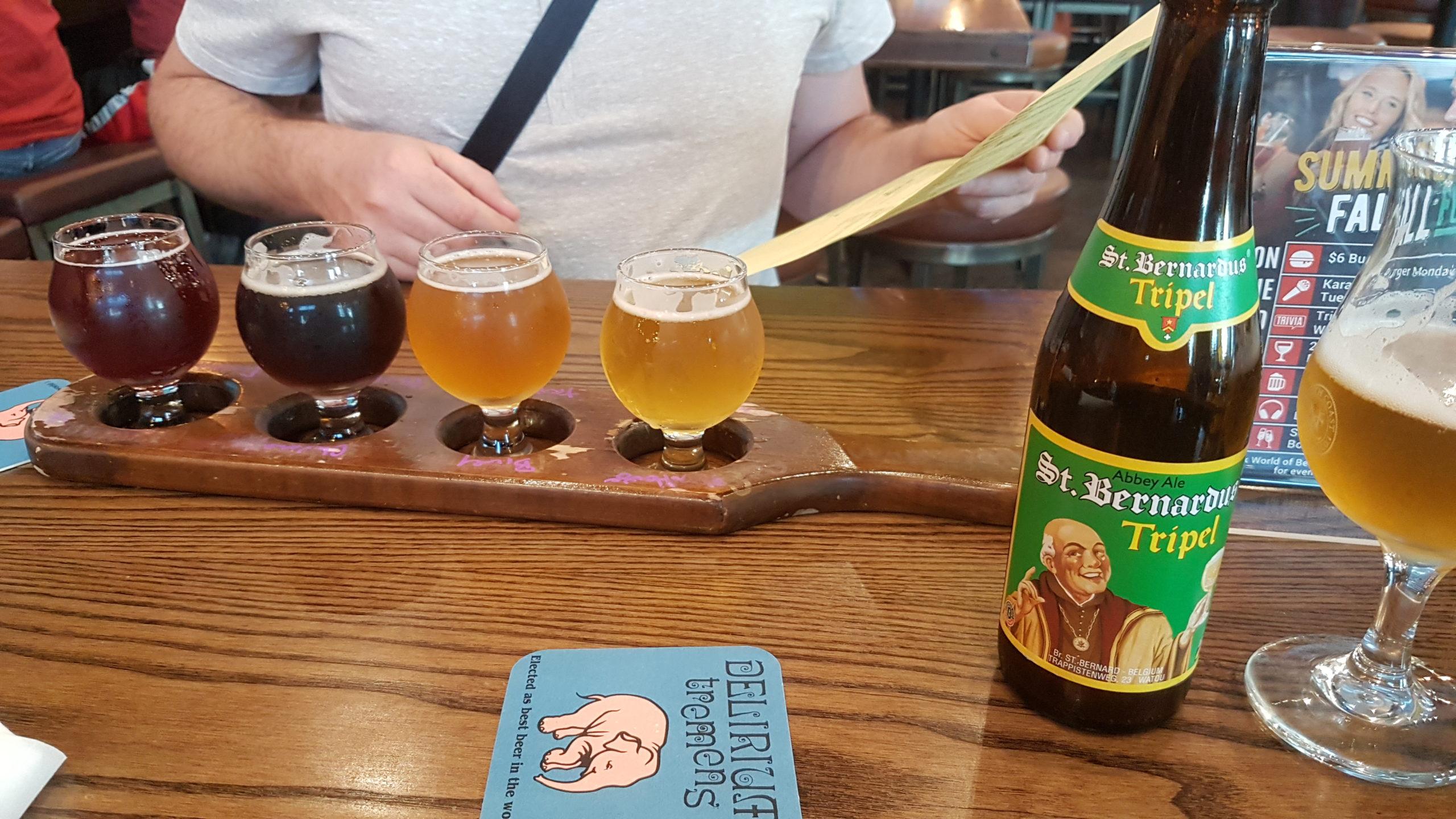 dégustation de bières au world of beers