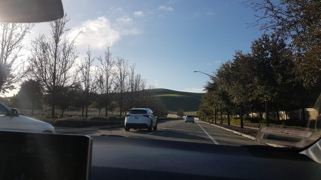 sur la route pour le tassajara trail 3