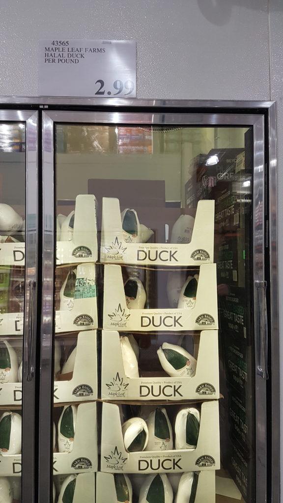 canard entier halal à 3 dollars !!