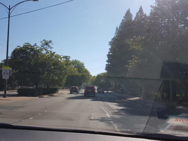 trajet vers mount diablo park 2