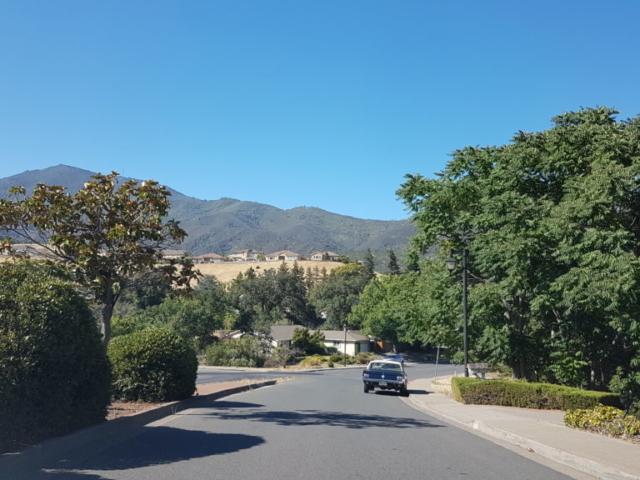 trajet vers mount diablo park Californie