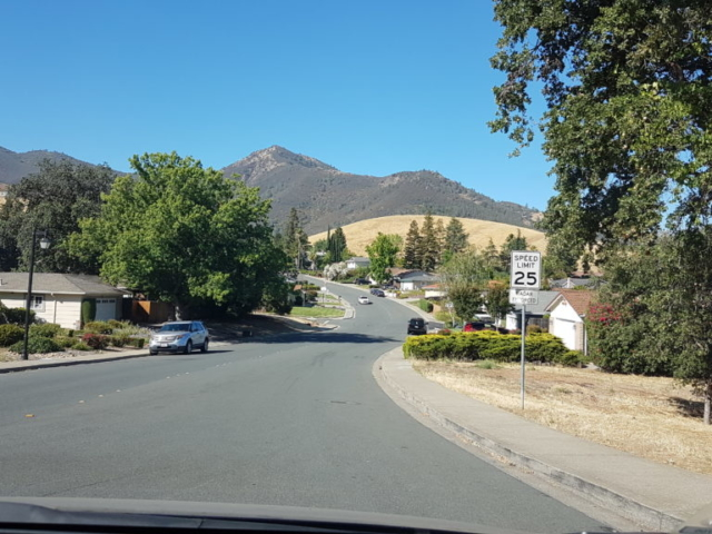 trajet vers mount diablo park Californie 2