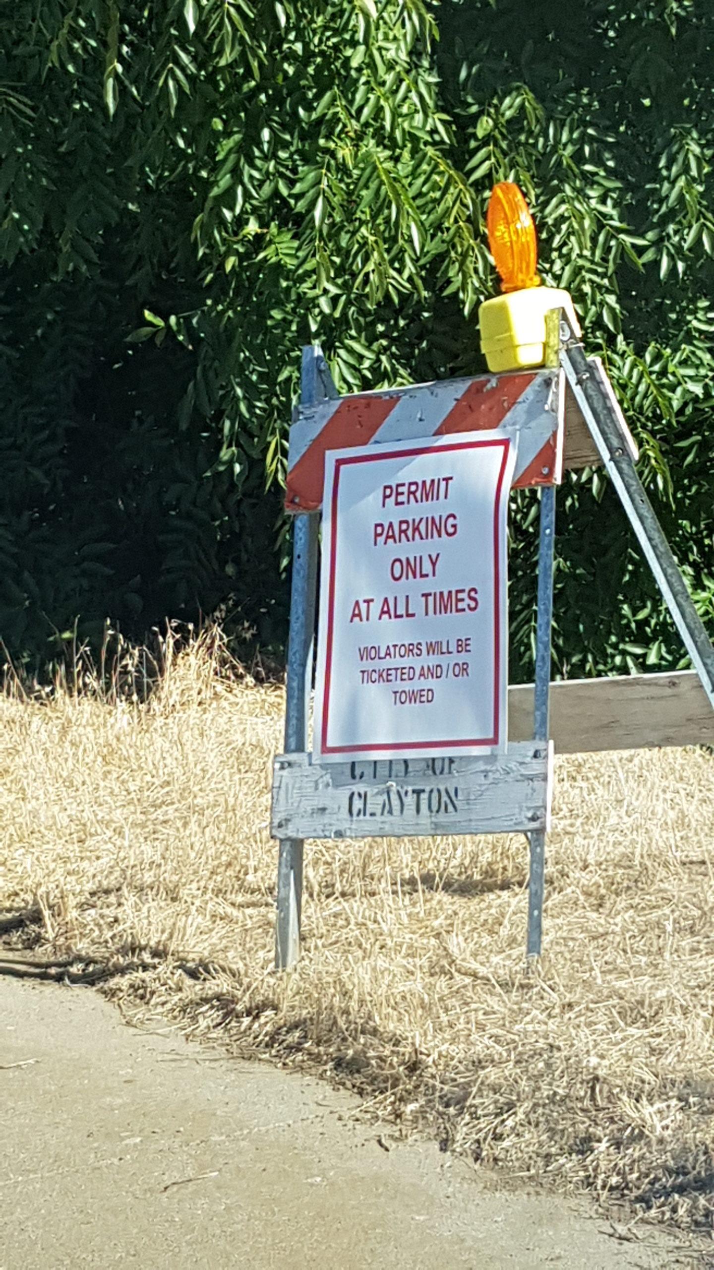 interdiction de se garer