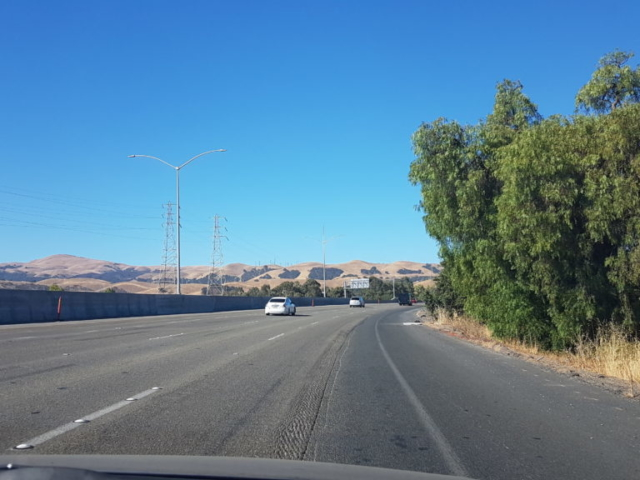 Sur la route vers le sud pour Santa Cruz
