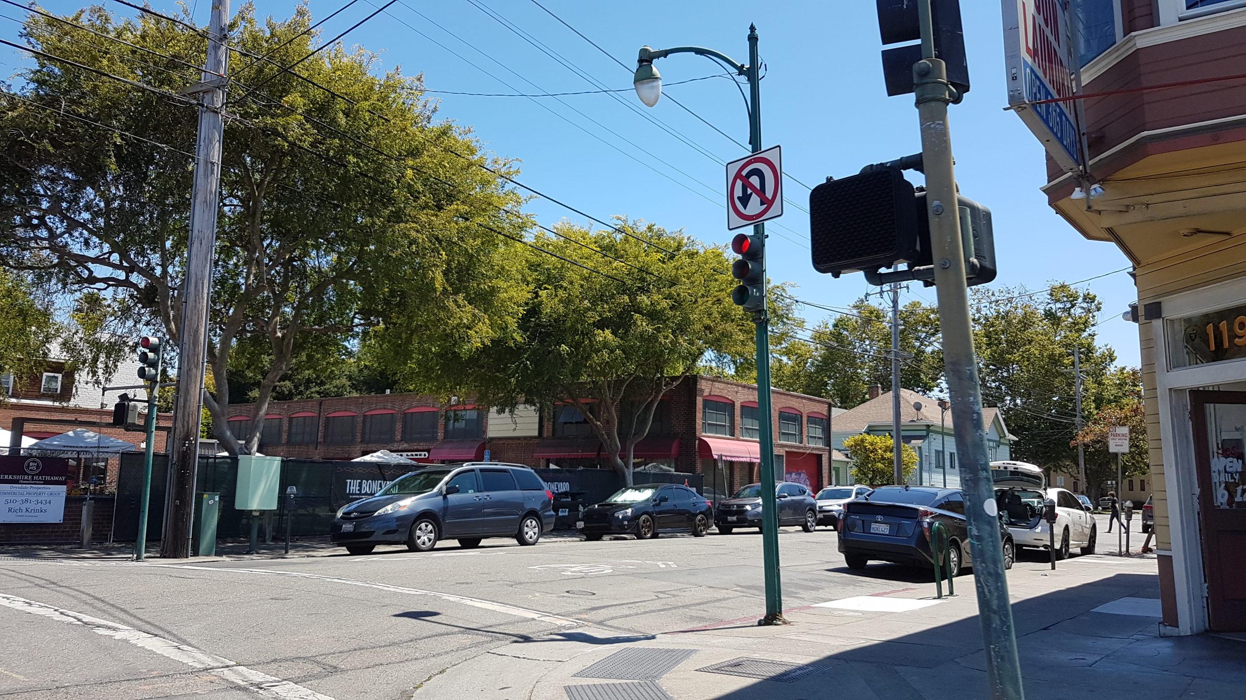 Centre ville d'Alameda.