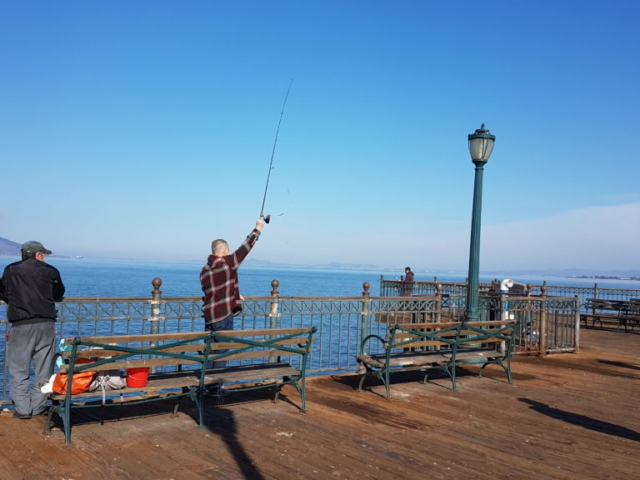 Le coin des pêcheurs.